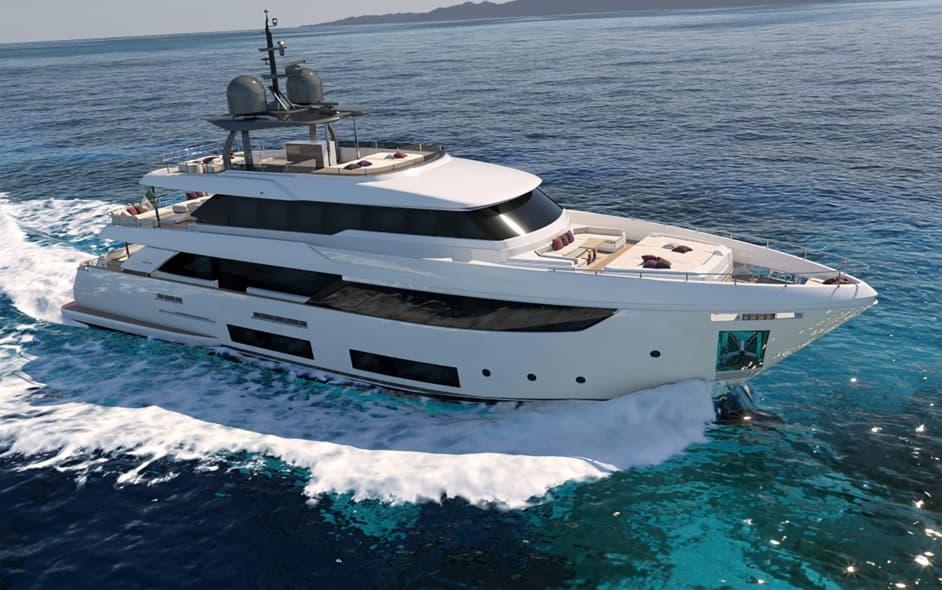 Яхта Custom Line Navetta 33 #18