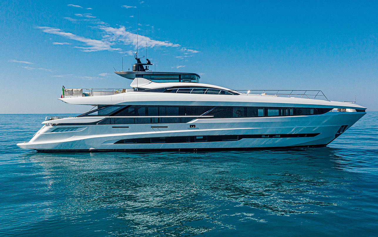 Яхта Mangusta GranSport 33
