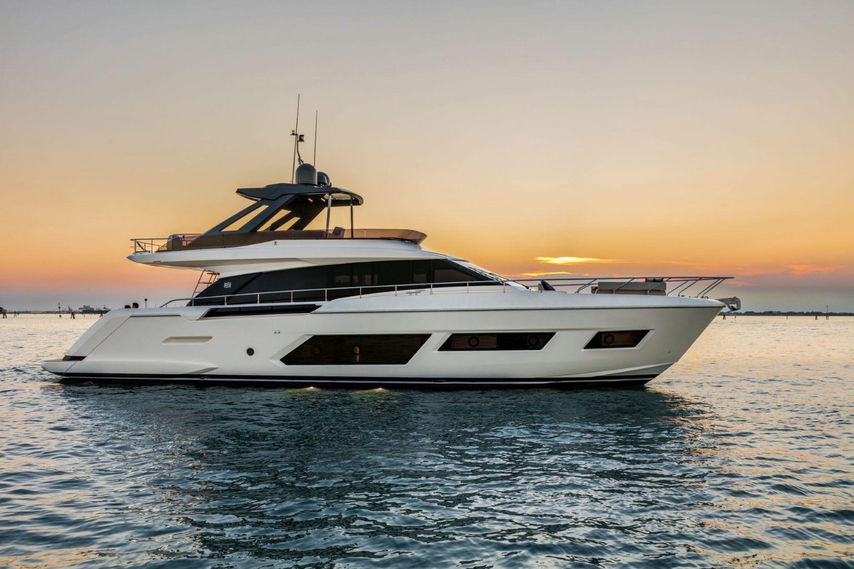 Яхта Ferretti Yachts 670 #8