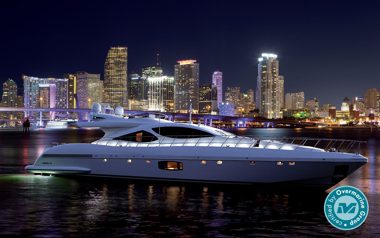 Яхта Mangusta 110 #03