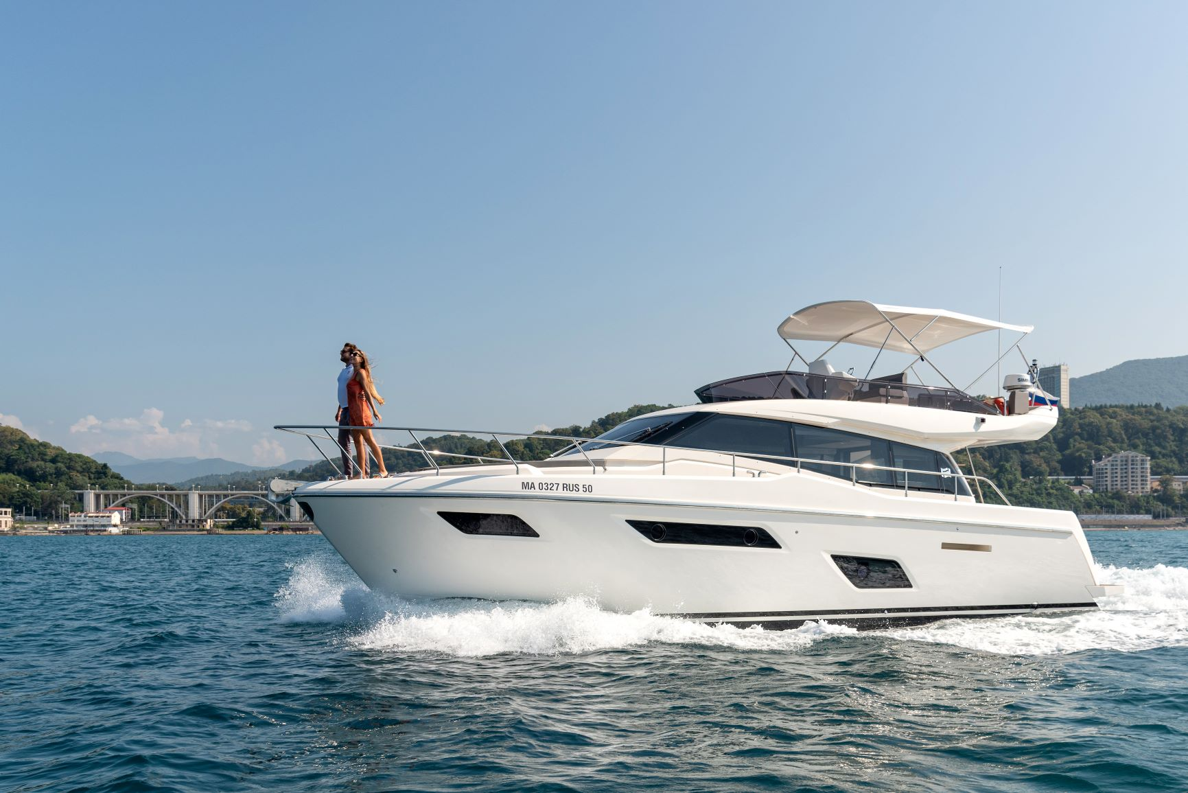 Яхта Ferretti Yachts 450 #27