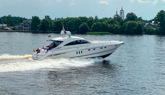 Яхта Fairline Targa 62GT(05)